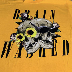 Brainwashed Hypebeast Skull Tee Size Medium
